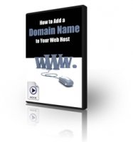 How to Add a Domain Name to Your Web Host - video