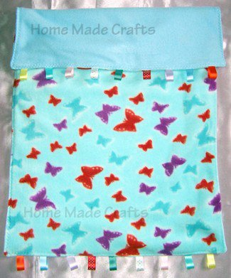 Hand made Crib/buggy blanket assorted colours