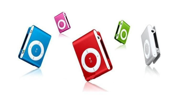 Hot Mini Clip Mp3 Player 10pcs per lot freeshipping