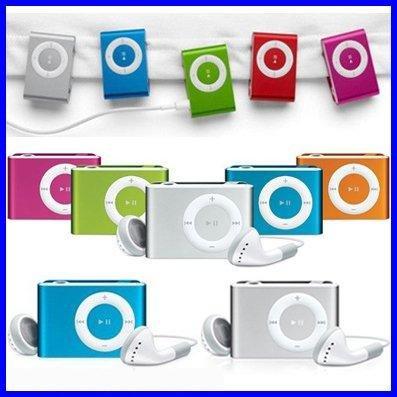 Hottest MINI MP3 MINI CLIP MP3 Player 100PCS one lot.
