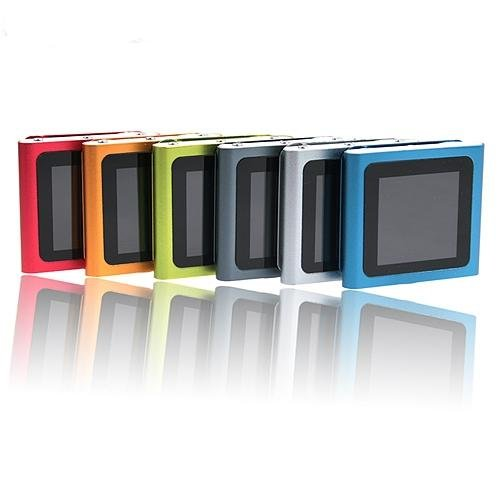 20pcs per lot MINI Touh screen MP3 Player with FM Radio (nano 6th gen style)