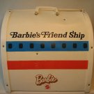 Barbie 1972 United Airlines Airplane Vinyl Case USED