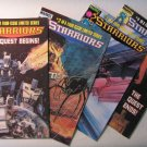 Comics: Marvel Starriors issues 1-4 from 1984