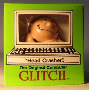 Computer Glitch 2 inch figure 1989 - Head Crasher