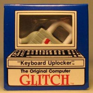 Computer Glitch 2 inch figure 1989 - Keyboard Uplocker