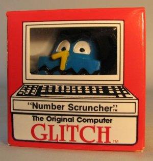 Computer Glitch 2 inch figure 1989 - Number Scruncher