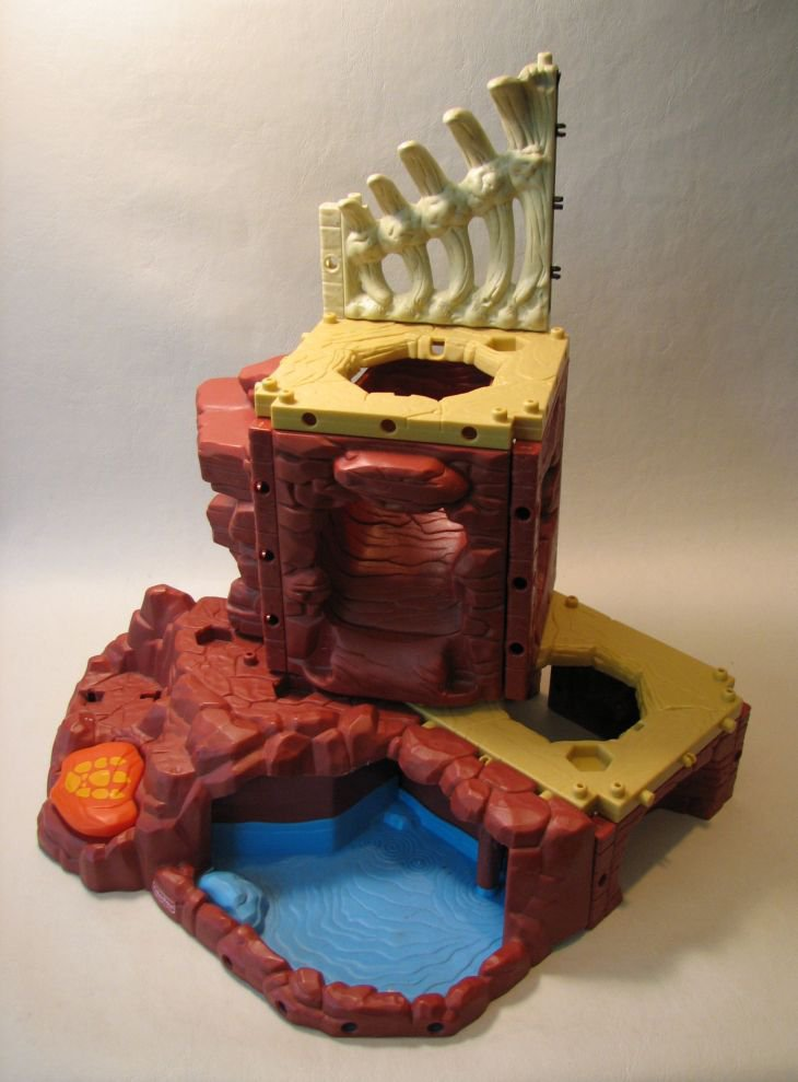 imaginext t rex mountain assembly instructions