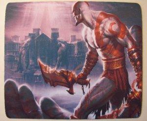 God of War Kratos mouse pad