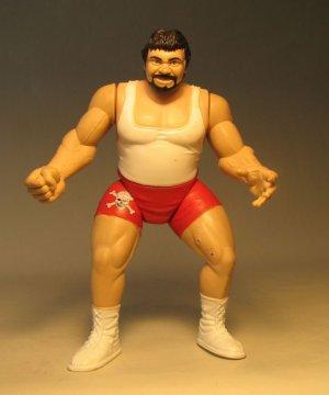 Jakks WWF WWE  figure Superstars 7 Dr Death 1998 LOOSE