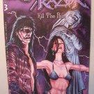 London Night  Comic - The Crow Razor Kill the Pain #3