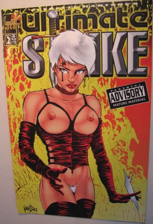 London Night  Comic Adult Cover - Ultimate Strike #2
