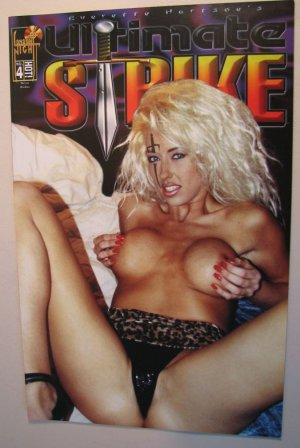 London Night  Comic Adult Cover - Ultimate Strike #4