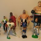 Lot of Loose Sports Figures - 9 pieces