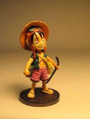 One Piece Banpresto Strong World 3 inch SD Luffy