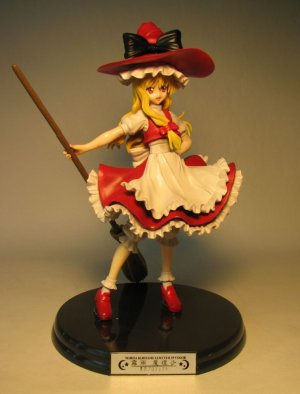 Shrine Sorceress Marisa Kirisame 7 inch PVC 1/8