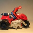 Spider-Man 2 Bump'n Go Jet Cycle w fig LOOSE