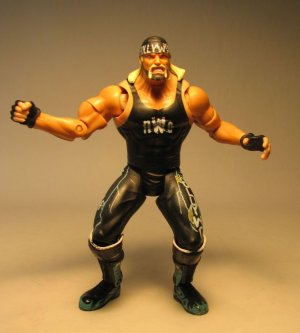 Toy Biz WCW figure Smash n Slam Hollywood Hogan LOOSE