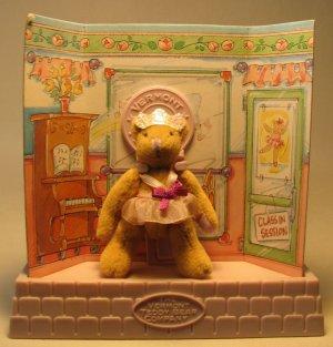 Vermont Teddy Bear Co 3 inch Ballerina Bear LOOSE