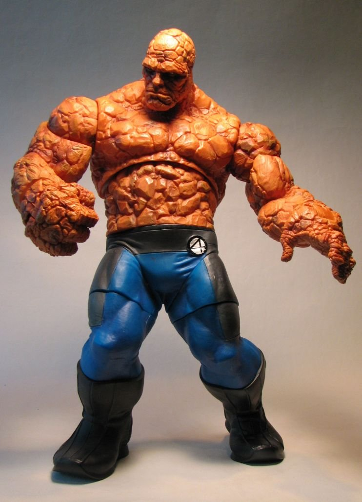 Fantastic Four The Thing 12 Inch Figure Loose