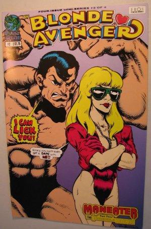 EROS Adult Comic - Blondie Avenger #2