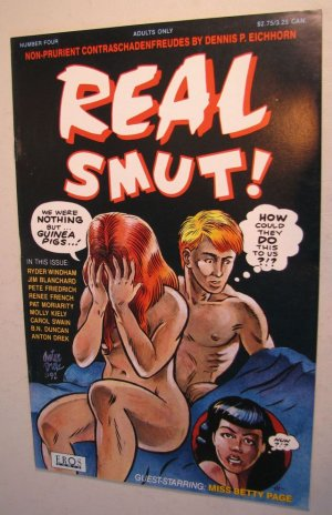 EROS Adult Comic - Real Smut! #4