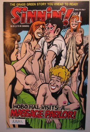 EROS Adult Comic - Sinning'! Hal visits Massage Parlor!