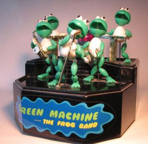 green machine band
