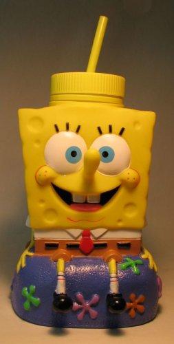 SpongeBob SquarePants 8 inch with cap & straw