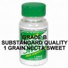 Grade B Substandard Quality Necta Sweet Saccharin Tablets 1 Grain 1000 Tablet Bottle (6 Bottle Pack)