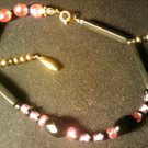 "handcrafted 10"" fashion anklet"