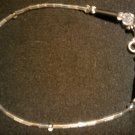 "handcrafted 10"" casually alluring fashion anklet"