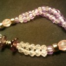 "handcrafted 11"" lavender fashion anklet"
