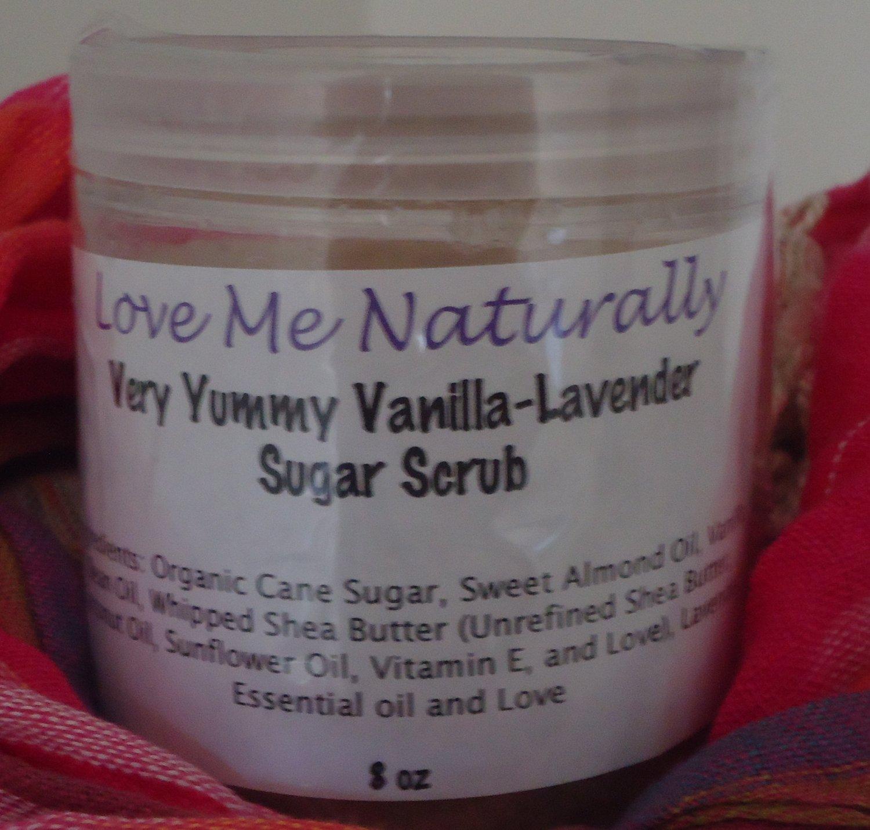 Very Yummy Vanilla-Lavender Sugar Scrub