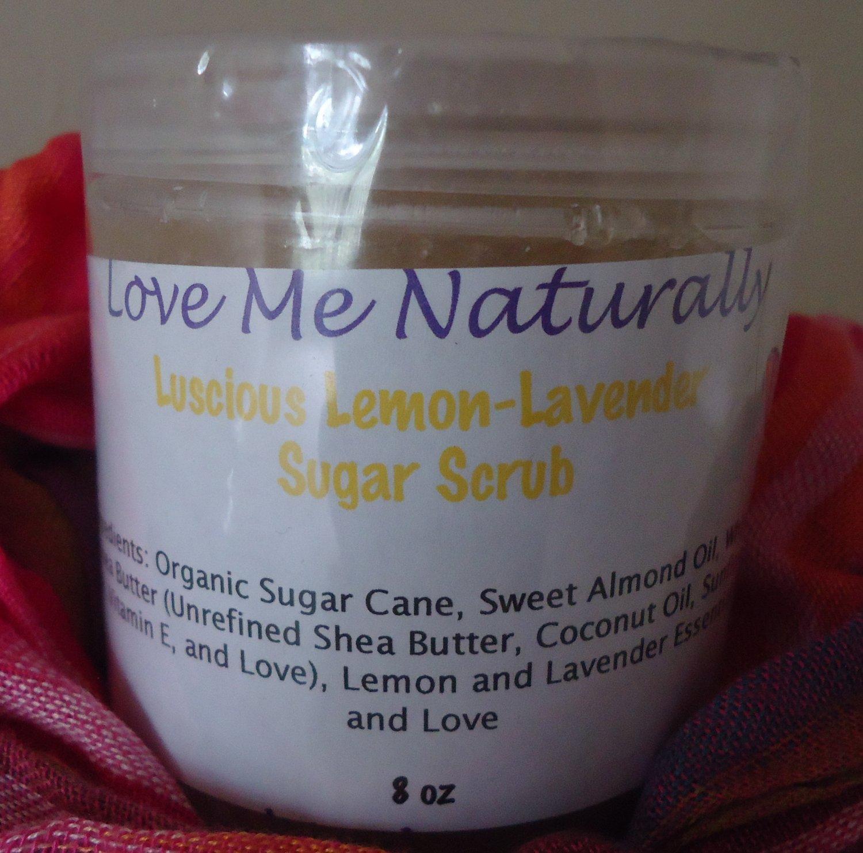 Luscious Lemon-Lavender Scrub