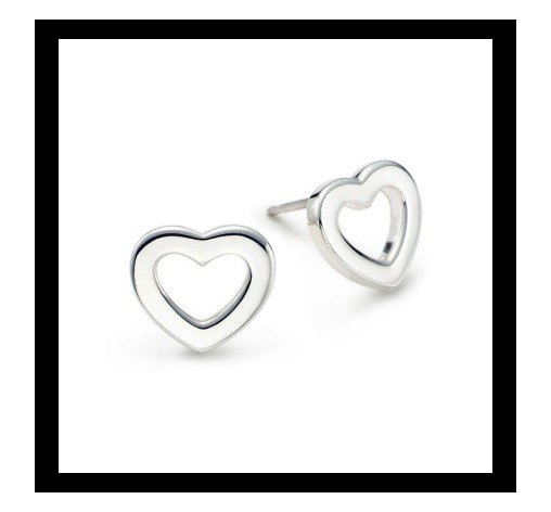 Heart Link earrings