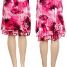 Fuchsia Print Skirt SMALL, MEDIUM, LARGE