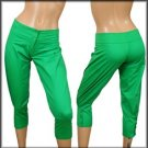 Green Capri Pants SMALL, MEDIUM, LARGE