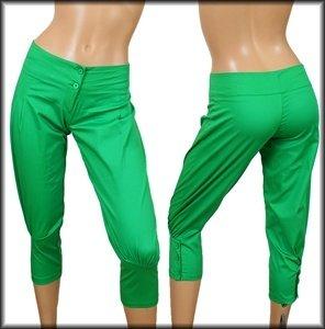 Green Capri Pants SMALL, MEDIUM, LARGE