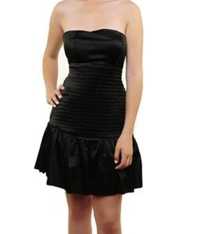 Black Strapless Dress  MEDIUM - LARGE