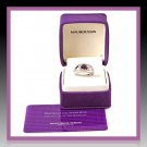 "SACRIFICE!-Maubaussin ""Betty"" 1 ct Amethyst in 18k solid white gold setting."
