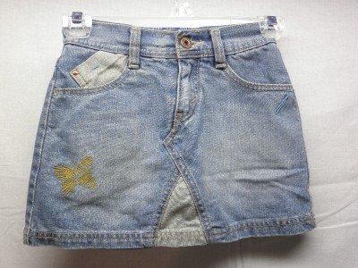 Girls LEVI STRAUSS Signature Blue Jean Skirt/Shorts 7/8