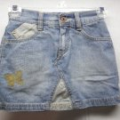 Girls LEVI STRAUSS Signature Blue Jean Skirt/Shorts 7/8