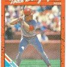 """Todd Benzinger """"Cincinnati Reds"""" 1990 #8 Donruss Baseball Card"""