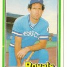 "JOHN WATHAN ""Kansas City Royals"" 1981 #221 Donruss Baseball Card"
