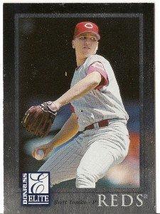 "BRETT TOMKO ""Cincinnati Reds"" 1998 #89 Donruss Elite Baseball Card"