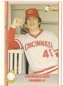 "TOM SEAVER ""Cincinnati Reds"" 1992 #103 Pacific Baseball Card"