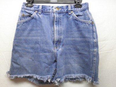 LEE Junior Young Ladies SZ 13M Blue Jean Shorts