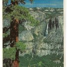 UPPER & LOWER YOSEMITE FALLS Post Card by Impact(1977)