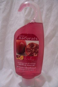 AVON Naturals Body Shower Gel (Pomegranate/Mango)