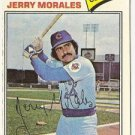 "JERRY MORALES ""Chicago Cubs"" 1977 #639 Topps Baseball Card"